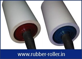 RUBBER ROLLER FOR METAL INDUSTRIES