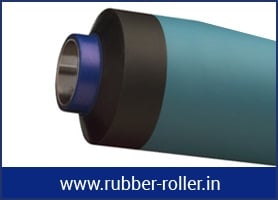 RUBBER ROLLER FOR PACKAGING INDUSTRIES
