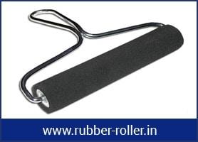 glue rubber roller