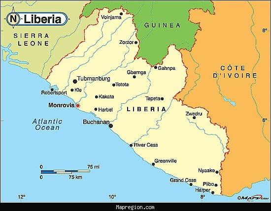 rubber roller in liberia