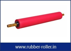 RUBBER ROLLER FOR PLASTIC INDUSTRIES
