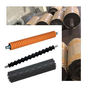 Rubber Roller For Leather in Ahmedabad